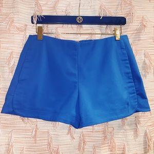 Cynthia Rowley Size 4 Royal Blur Shorts